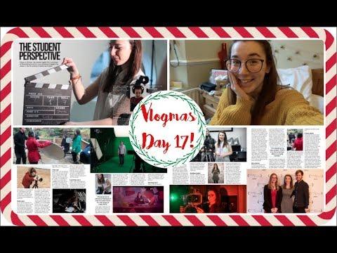 VLOGMAS #17: I'M IN DIGITAL FILMMAKER MAGAZINE! // Becca