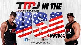 TMJ In The USA! Season 2 Ep 16: Dallas Cowboys & Chest At MetroFlex | MassiveJoes.com Tour 2014