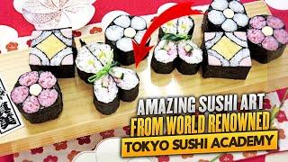 Crazy Tokyo Sushi School  驚きの飾り巻き寿司