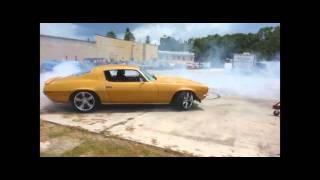 1970 Chevrolet Camaro SS350 Donuts/Burnouts (1080p HD)