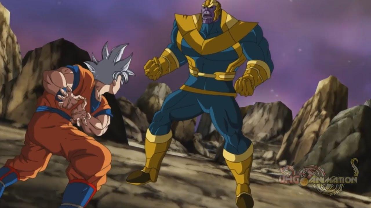 Goku Vs Thanos: Dragon Ball Super Vs Avengers