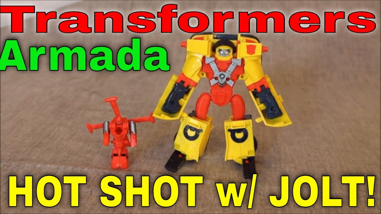 The Fast Lane with Armada Hot Shot and Minicon Jolt By GotBot