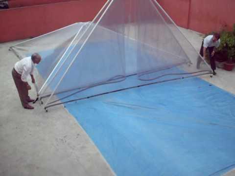 Como armar a sua cobertura para sua piscina 6 youtube for Piscinas para armar