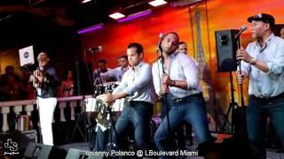 Yovanny Polanco en L Boulevard Cafe Miami By JimmySound LMP