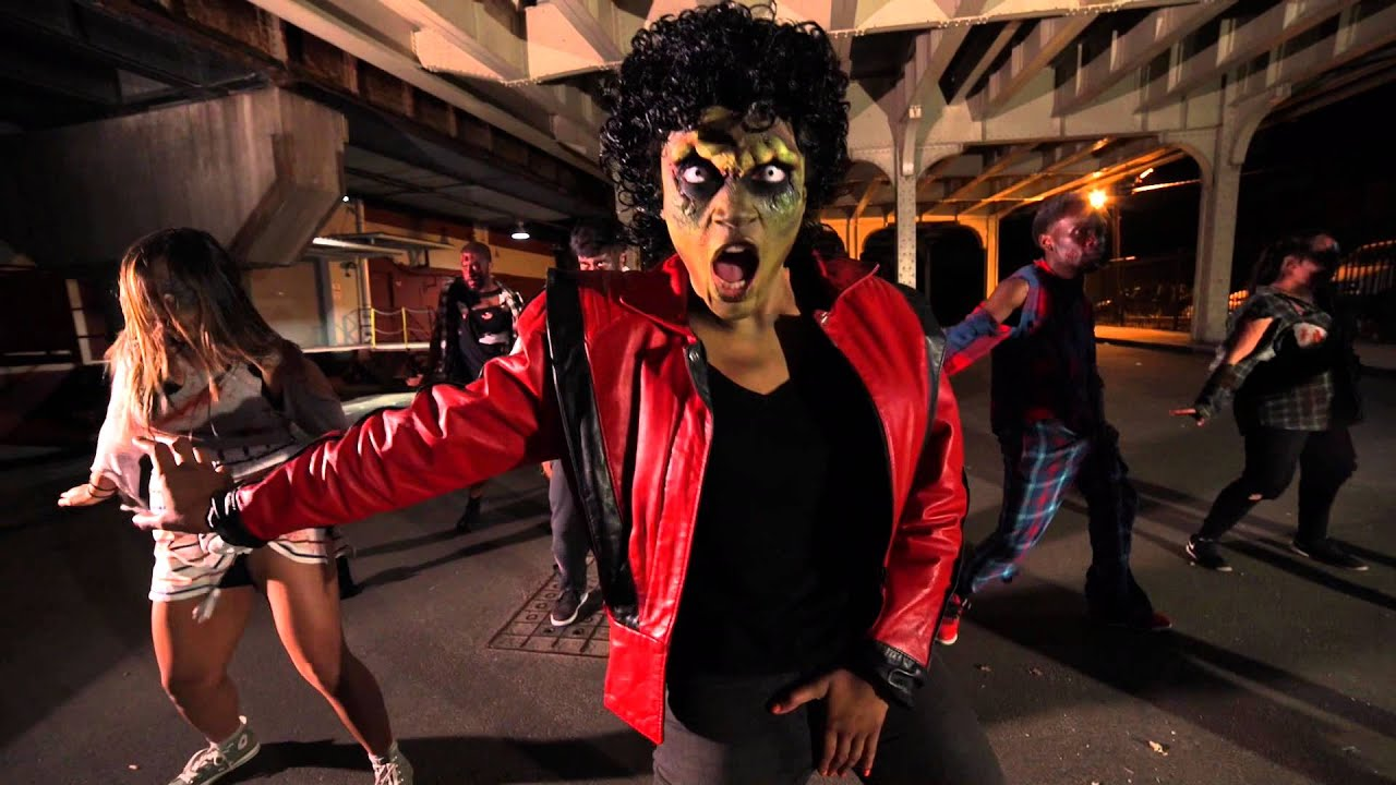 Michael Jackson Thriller Tribute   YouTube Michael Jackson Thriller Tribute