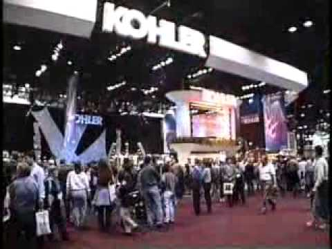 Graphical Waterfall ® at 2000 NKBA for Kohler Company, Chicago, Illinois, USA