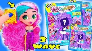 Новые КУКЛЫ С ПРИЧЕСКАМИ HAIRDORABLES 3 Серия! Мультик LOL Families Surprise Dolls - Видео для детей