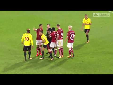 Watford 2 - 3 Bristol City (22/08/2017) [Carabao Cup] ALL GOALS
