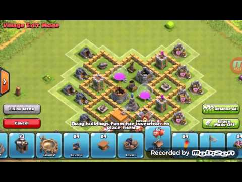 Base Coc Th 5 Terkuat 15 By Izzat Youtube