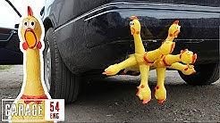 Rubber chicken exhaust mod