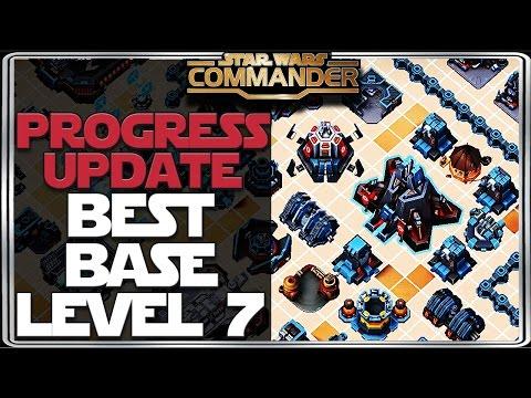 Star Wars: Commander - Best base layout level 7 Update