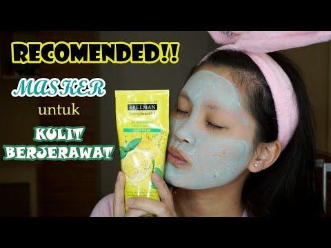 RECOMENDED!! Masker Untuk Menghilangkan Jerawat | Freeman Mint + Lemon