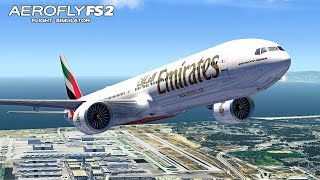 AEROFLY FS 2 Flight Simulator #49 Boeing 777-300ER - Neues Flugzeug ★ FLUGSIMULATOR 2020