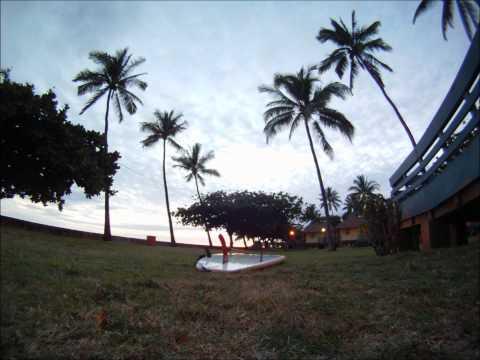 Waianae Sunset from Pililaau Cabin