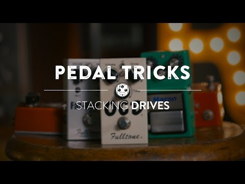Stacking Overdrive Pedals | Reverb Pedal Tricks