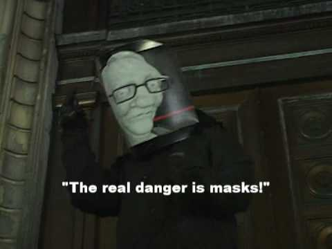 Culture Jam at Montreal City Hall regarding Anti-Mask Law