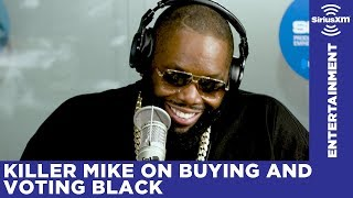 Killer Mike talks about buying and voting black