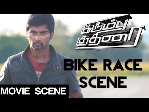 Irumbu Kuthirai - Bike Race | Atharvaa | Priya Anand | Yuvaraj Bose