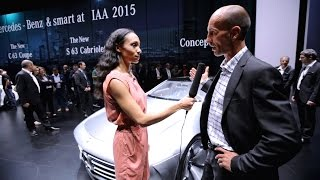 "Dr. Teddy Woll on the aerodynamics of the ""Concept IAA"" - Mercedes-Benz original"