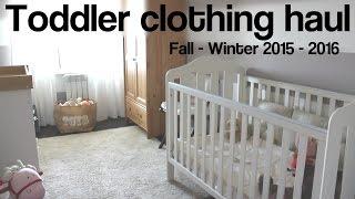Детские покупки 1-2 года: как одеть ребенка стильно. Осень - зима 2015 -2016(, 2015-10-03T04:12:34.000Z)