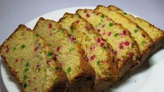 Homemade tutti frutti cake in a pressure cooker| KIDS FAVORITE CAKE - टूटी फ्रूटी केक कुकर में बनाये