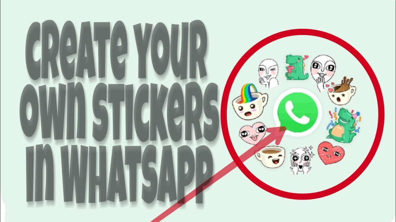 create own whatsapp sticker