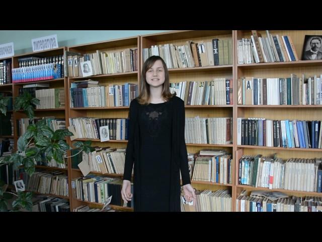 Изображение предпросмотра прочтения – КаринаСвиридова читает произведение «Две сестры бежали от войны...» Э.Г.Казакевича