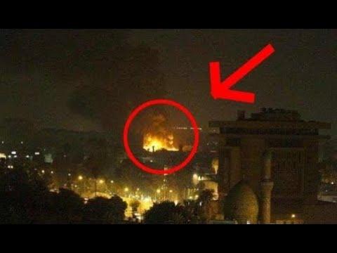 По посольству США в Багдаде нанесли тройной ракетный удар
