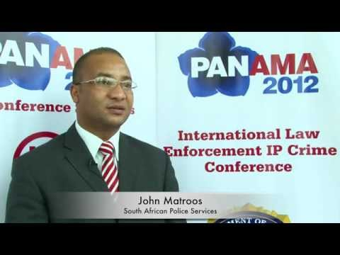 INTERPOL International IP Crime Conference: John Matroos, South African Police