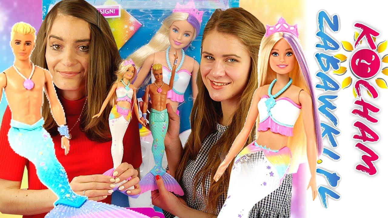 Barbie Dreamtopia Barbie Magiczna Syrenka Barbie Syrenka Kolorowa Magia Youtube