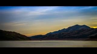 Timelapse of a sunset over the Little Dell Reservoir near Salt Lake...