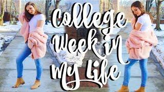 college week in my life   Penn State University