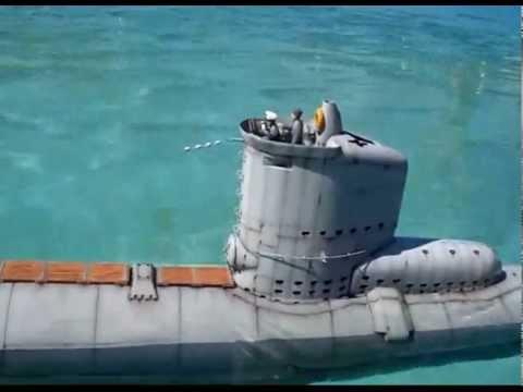 RC U-boat type XXIII-electric torpedo scale 1/35