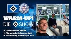 LIVE: WARM-UP! Die HSV-Show I 30. Spieltag I HSV vs. Holstein Kiel