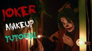 Joker Makeup Tutorial joaquin Phoenix by Broseph David