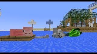 Monster School: Weekend 3 (Minecraft Animation)