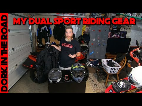 My Dual Sport Riding Gear: What I Wear For Off Road Adventure Motorcycling And Trail Riding