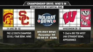 USC vs Wisconsin in Holiday Bowl 2016