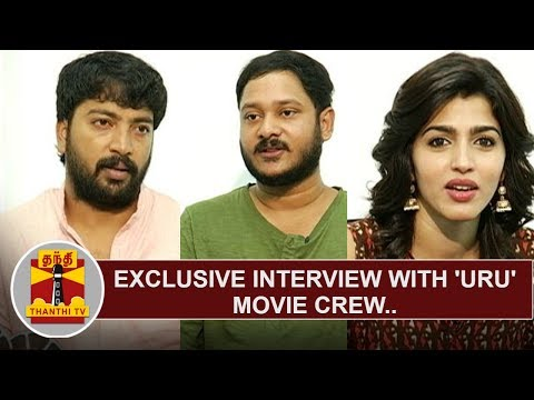 Exclusive Interview with 'URU' movie crew | Kalaiyarasan | Vicky Anand | Sai Dhanshika