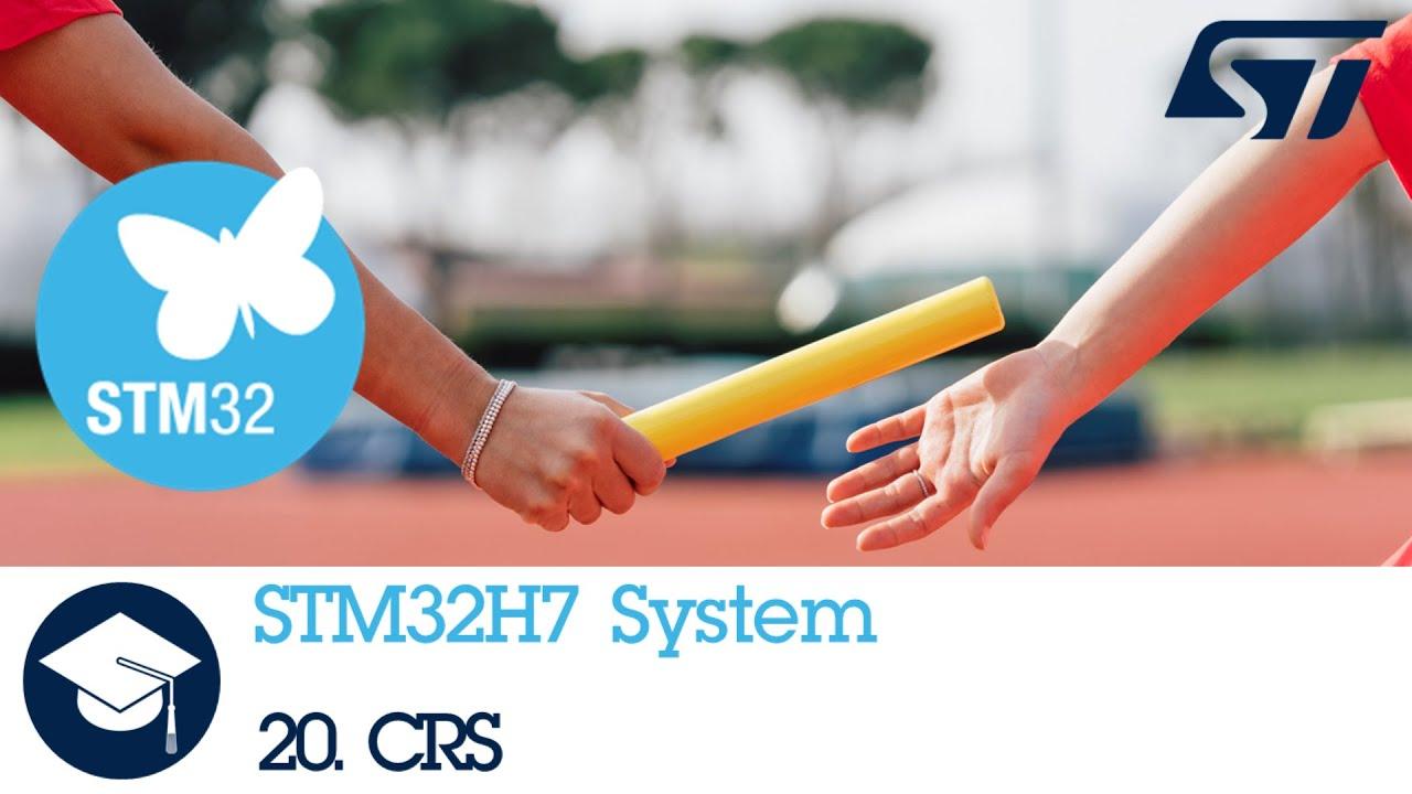 STM32H7 OLT - 19  System Clock Recovery System