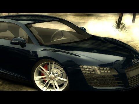 NFS Most Wanted (2005) Mod Review - Audi R8 Le Mans Quattro