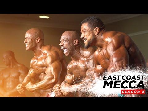 Dexter Jackson Vs Roelly Winklaar Vs Victor Martinez At The NY Pro   East Coast Mecca