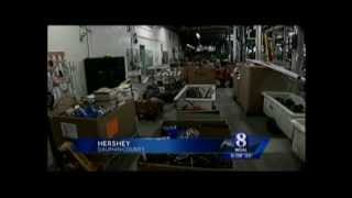 Hershey Chocolate Auction Video Clip WGAL 8