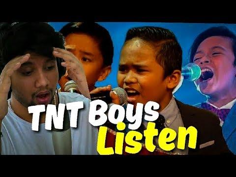 Singer Reacts To TNT Boys - Listen | Little Big Shots UK | Like Woah!!