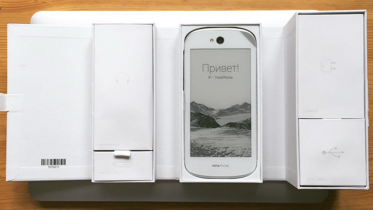 Обзор YotaPhone 2 за 145$. Стоит ли покупать смартфон из Китая .