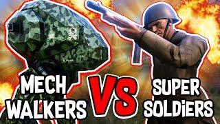 250 ROBOTS VS 500 HUMANS!! - Ultimate Epic Battle Simulator #6