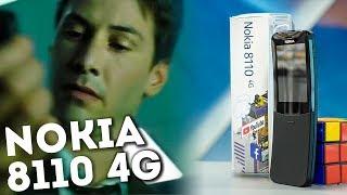 Nokia 8110 4g - быстрый обзор телефона из