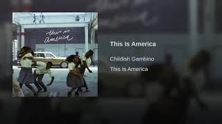 Childish Gambino - This Is America (Clean version)