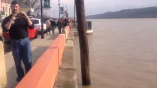 Ohio River Flood March 14 2015 @ New Richmond