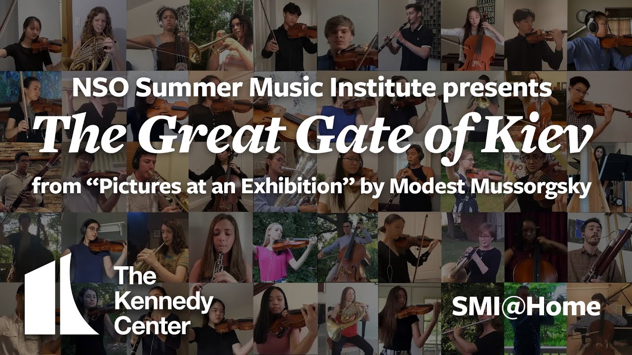 """The Great Gate of Kiev from """"Pictures at an Exhibition"""" by Modest Mussorgsky- SMI@Home"""